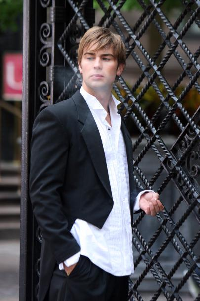 Chace Crawford smoking