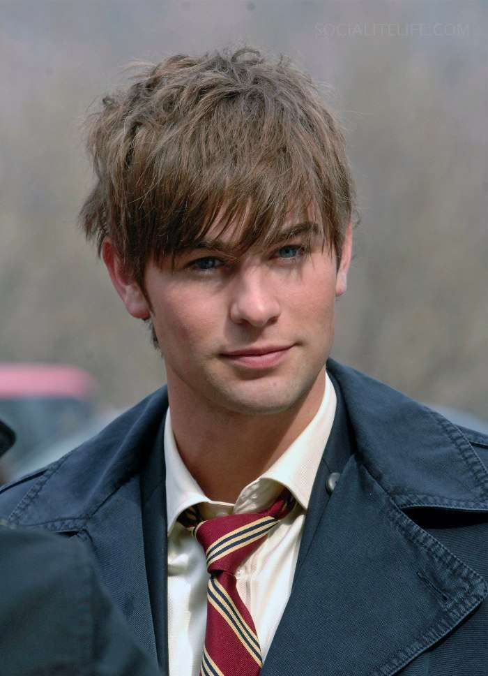 Chace Crawford hair